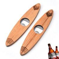 فتحت زجاجة بيرة خشبية مقبض خشبي المفتاح الإبداعية الفولاذ المقاوم للصدأ سرعة فتاحة زجاجات المنزل البيرة كاب فتحت بار إمدادات المطبخ