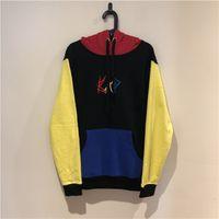 Herren Designer Hoodies Nähte Farbe Rache Bad Hoodie xxxtentacion High Street Mode Marke Lose Sweatshirt S-XL40LE