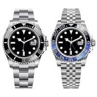 Orologio da uomo classico 40mm orologi meccanici automatici moda orologi da polso moda business per uomo orologio da polso Montre de luxe in acciaio inox wristband regalo di alta qualità