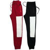 망 바지 클래식 활성 스웨트 팬츠 남성 패션 캐주얼 스포츠 바지 고품질 편지 패턴 S-2XL