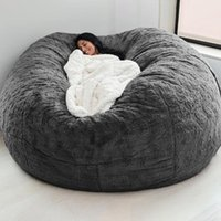Chair Covers Lazy Bean Bag Sofa Cover For Living Room Lounger Seat Couch Chairs Cloth Puff Tatami Asiento
