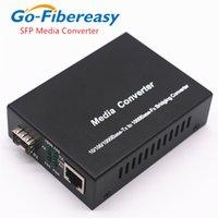 SFP Media Converter 1000Mbps Gigabit SFP vers UTP RJ45 SFP Convertisseur de commutateurs à fibres SFP sur la fibre optique RJ45