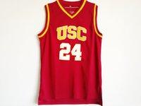 NCAA USC Trojans College jerseys 10 DeRozan 1 Young 24 Scalabrine 31 Miller 33 Leslie SHIRTS university basketball top