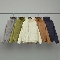 2021 Страх Бога Основы туманный туман зимний утолщение перо костюма куртка, хлопчатобумажная одежда хлебная куртка