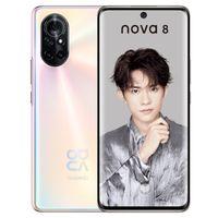 Original Huawei Nova 8 5G Téléphone mobile 8GB RAM 128GB ROM 256GB ROM Kirin985 octa core Android 6.57