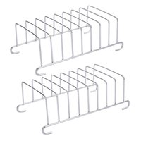 2 pcs Air Frigerador Rack Seguro Fine Chic Braking Cremalheira de Pão Cozinhar Ferramenta Air Fryer Acessórios