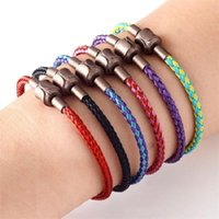 Charm Bracelets Trendy Magnetic Buckle Colorful Wire Rope Women Accessories Jewelry DIY Fashion Birthday Gift Bracelet