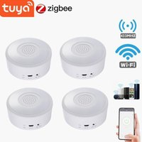 Tuya Wifi Sound Light Alarm Wireless Linkage Smart Sound Lig...