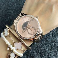 Orologio da polso da polso da polso in metallo in metallo in metallo orologio da donna