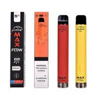 E Cigarettes HYPPE Max Flow 2000 Puffs Vape Pen Starter Kit Disposable Battery 900mAh Pre-filled Oil 6.0ml Device pk Puff bar