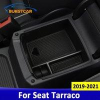 Auto Organizer Xburstcar Central Armlehne Aufbewahrungsbox für Sitz Tarraco 2021 Auto Container Handschuh Hülle Zubehör