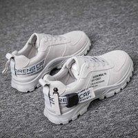Dress Shoes Spring 2021 Canvas Men's Work Cloth Casual Sho Korean Fashion Versatile Martin Boots