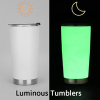 New Flash Skinny Luminous Tumblers Hot Sale Stainless Steel ...