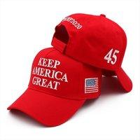 Heep America 45 Baseball Stickerei Baumwollkappe Hut Präsident Trump 2024 Republikanischer Kag Maga