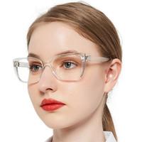 Óculos de sol Occi Chiar Óculos de Leitura Mulheres Tamanho Grande Eyeglasses Frames para Leitor Cat Eye Hyperópia Eyewear Maggery Moda Espetáculo +1