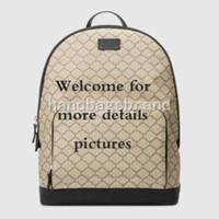 Famosa mochila de alta qualidade mochila de couro clássico sacos de viagem de moda saco de negócios saco de notebook saco 406370 Tamanho: 31.5 * 41 * 14.5cm