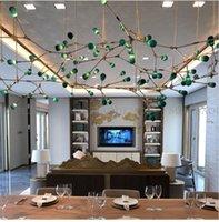 Customized Post-modern Firefly Glass Chandeliers Rreative Duplex Building Living Room Lobby Pendant Lamp Hotel Restaurant Negotiation Area Chandelier Lights