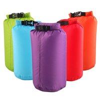 8L Armazenamento impermeável bolsa de saco seco para barco kayaking trekking pesca rafting natação camping seco Sacks drop frete 61 x2