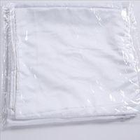 Sublimación 45 * 45 cm Funda de almohada cuadrada DIY Cubierta de almohada en blanco Transferencia de calor Casos de almohada Insertar Cubiertas de almohadas de tiro de poliéster 191 S2