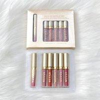 EM ESTOQUE!! Marca Stila Star Stilded 8 pcs Liquid Batom Lip Gloss Set Long Durando Cremoso Shimmer Batom Batom