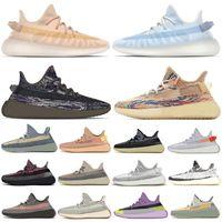 2021 Kanye Mono Ice Clay Mist Black sneakers casual shoes Ash Blue Pearl Stone Belgua Cinder Cid Zebra Yecheil Static sports mens Trainers