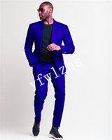 Handsome One Button Groomsmen Peak Lapel Groom Tuxedos Man's Suits Wedding Prom Dinner Man Blazer(Jacket+Pants+Tie) K525