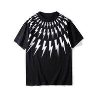 Été Nouveau mode de mode Short Flash T-shirt imprimé Coton pour homme LOOS LOIGE GRAND COU À COLLES D'AMOURS 'EURRY