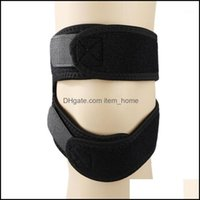 Elbow Safety Athletic Outdoor As Sports Outdoorselbow & Knee Pads Double Patella Brace Strap Support Compression Sleeve Non-Slip Pad Sport A