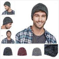 Beanies Liser Erkekler Bere Şapkalar Skullies Hedging Cap Yün Örgü Sonbahar Ve Kış Açık Sokak Erkek Şapka Moda 2021 1
