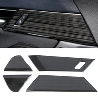 For Mazda CX-30 2020 Stainless Car Accessory Inner Door Handle Cover Gate Bezel Trim Frame Sticker Interior Decoration