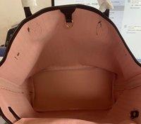 Самая дешевая розовая подкладка Женщина Кордовая сумка Высококачественная кожаный кошелек Tote Новая мода Сумка на плечо Сумка Серийный номер Дата Код