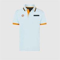 2021 Verano F1 Racing Polo Camisa Fórmula One Team T-Shirt Ventilador de coche Manga corta Versión personalizada
