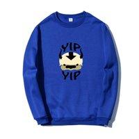 Men's Hoodies & Sweatshirts Man 2021 Fleece Avatar The Last Airbender Harajuku Loose Streetwear Top Autumn Spring O Neck Pullover Men Clothi