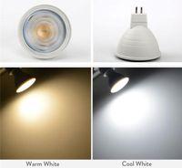 LED Spot light E27 E14 GU10 GU5.3 7W MR16 lamp bulbs 24 Beam Angle Spotlight For Downlight Table