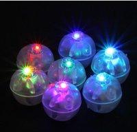 Coloré rond de lampes de balle rbb rbb lampes de ballon lumières submersibles Lanterne lumières pour la décoration de fête de mariage de Noël lanterne