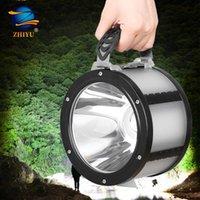 Zhiyu portátil l2 lanternas portáteis super brilhantes led tocha com gancho USB 20W USB recarregável barraca de barraca