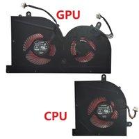 Nuova ventola di raffreddamento della CPU del laptop per MSI GS63VR GS63 GS73 GS73VR MS63 GS73 GS73VR MS-17B1 Stealth Pro CPU BS5005HS-U2F1 GPU BS5005HS-U2L1 Cooler