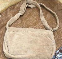 أزياء منشفة حقيبة المخملية المائل حقيبة واحدة الكتف بسيط حقيبة يد السيدات سعة كبيرة جمع حقيبة التخزين رسول حقائب vip هدية