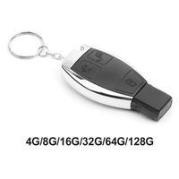 Hubs USB Flash Drive 100% Real Capacity All Car Logo Key 8GB 16GB 32GB 64GB Pen Pendrive Memory Stick U Disk Wholesale