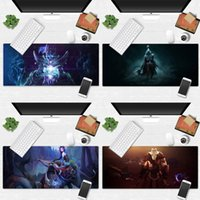 Mouse Pads & Wrist Rests Cool DIY Game Dota 2 Laptop Computer Mousepad Desk Table Protect Office Work Mat Pad Non-slip Cushion