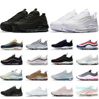 Fashion- Running Shoes Men Women Triple Black White Sean Wotherspoon Usa Ghost Jesus Barely Rose Mens Womens Trainers Sports Sneakers
