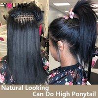 Bone Straight I Tip Human Extenstions For Black Women 100Gram 1&2&3 Bundles Microlinks YouMay Bulk Virgin Hair