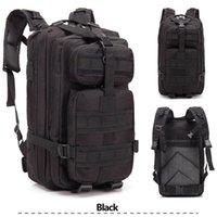 Gorąca Sprzedaż 3P Plecak Marzec Outdoor Tactical Plecak Ramiona Torba Czarny Kemping Wędrówki Trekking Sport Podróżuje Plecaki Podbory