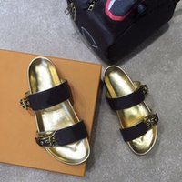 2021 Été de luxe femme femme plage dessin animé grosse tête sandales designer cuir plate pantoufles de toile colorée lettre anatomique classique pantoufle