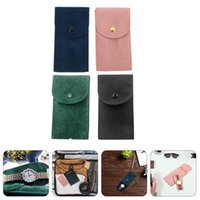 Watch Boxes & Cases 4pcs Flannel Storage Bag Protection Jewelry Organizer