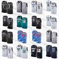 MemphisGrizzliesBrooklyn.Net Jersey JA 12 Morant Kevin 7 Durant James 13 Harden Kyrie 72 Biggie 11 Irving Basketball
