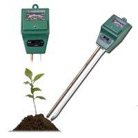 جديد وصول 3 في 1 درجة حرجة الفاحص التربة كاشف المياه الرطوبة الرطوبة ضوء اختبار متر الاستشعار للحديقة مصنع زهرة AHF5391