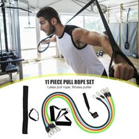 Resistance Bands 11pcs set Latex Tube Yoga Gym Stretch Pull Rope Exercise Workout Training Rubber Expander Fitness Equipment