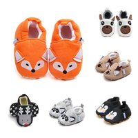 First Walkers Classic Cotton Baby Shoes Spring Cartoon Animal Girl Fashion Casual Boy