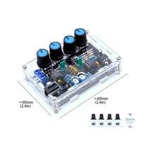 Умный домашний контроль ICL8038 многофункциональный низкочастотный генератор сигнала DIY набор с акриловой оболочкой XR2206 версия обновления